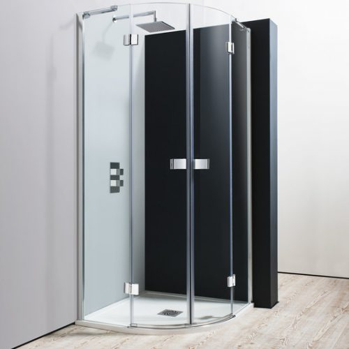 Crosswater Design Quadrant Double Door 800mm DQDSC0800