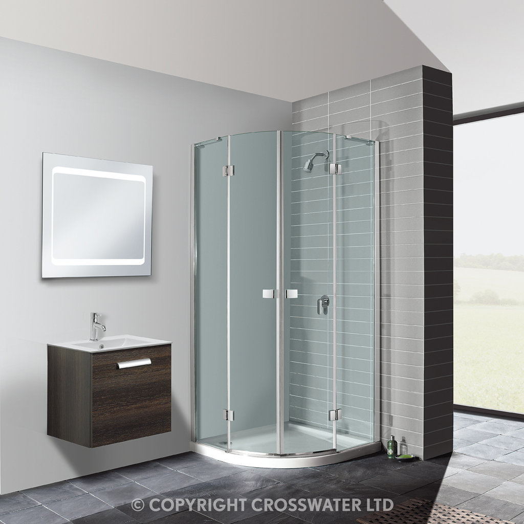 Crosswater Design Quad Enclosure 1200 X 900mm Dqdsc12x9