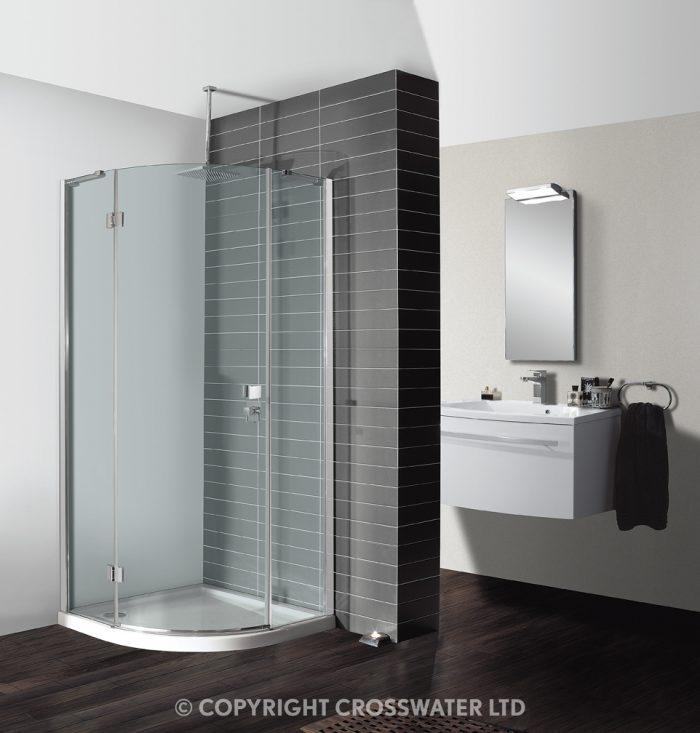 Simpsons Design Quadrant Single Door 800mm DQSSC0800 (