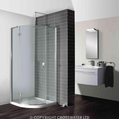 Simpsons Design Quad Shower Single Door 900mm DQSSC0900