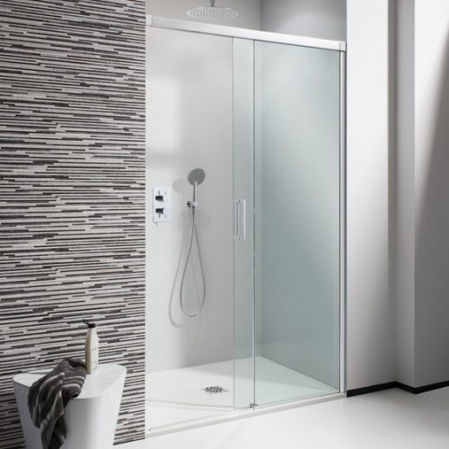 Crosswater Design 1700mm Soft Close Slider Shower Door DSLSC1700