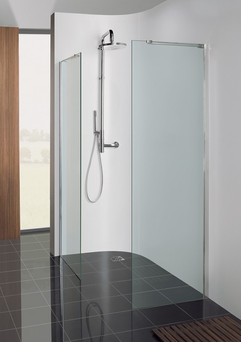 Crosswater Semi-Frameless Walk In Panel 900mm DSPSC0900