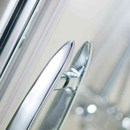 Roman Desire 1200 Left Sliding Shower Door for Alcove DT1213SL