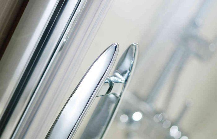 Roman Desire 1400 Left Sliding Shower Door for Alcove DT1413SL
