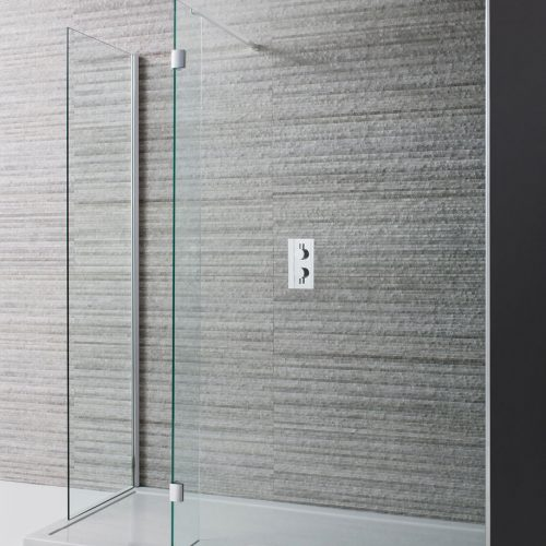 Crosswater Design Double Sided Walk in 8mm Shower Door 1400mm DWDSC1400-0