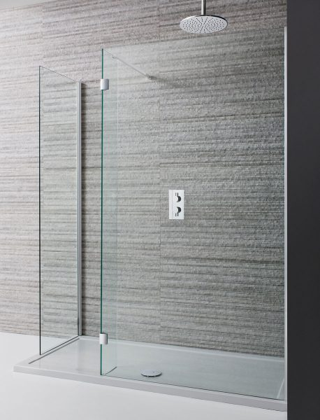 Crosswater Design Double Sided Walk In 8mm Shower Door 1400mm Dwdsc1400
