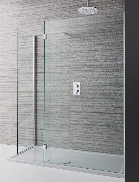 Crosswater Design Double Sided Walk In 8mm Shower Door 1400mm Dwdsc1400