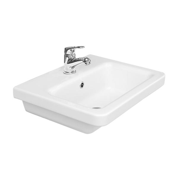 Saneux Indigo 50 x 40cm washbasin ONLY with 1 tap hole 70000