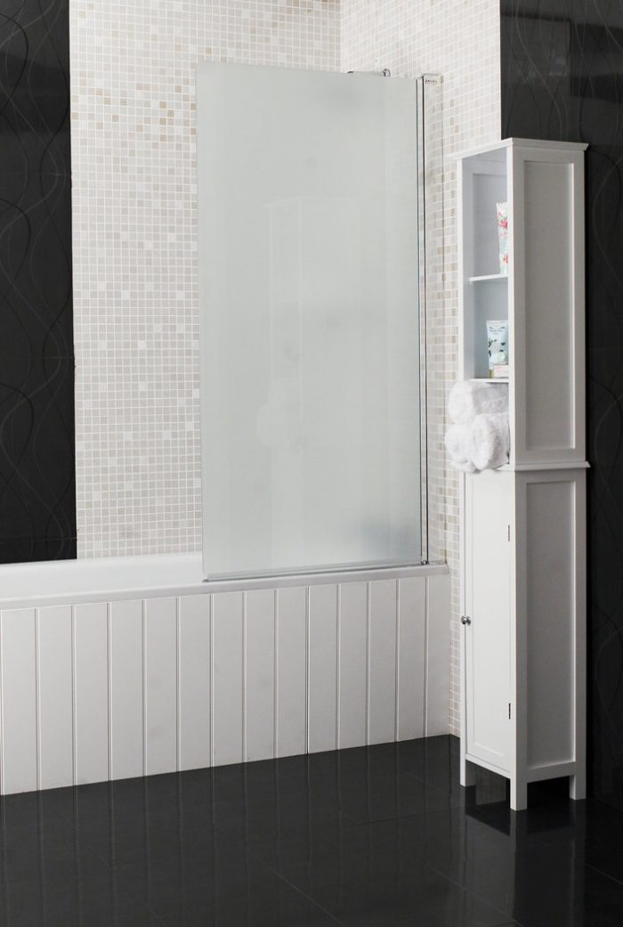 Roman Embrace 6mm Frosted Modesty Bath Screen EB99S