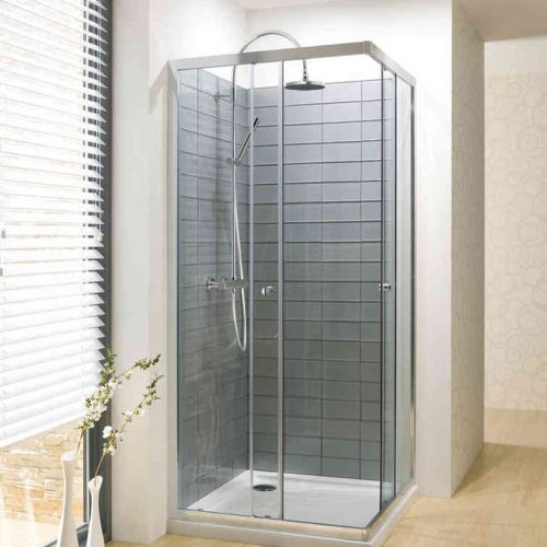 Simpsons Edge Corner Entry Shower Enclosure 800mm ECESC0800