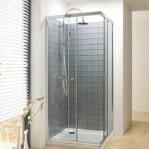 Crosswater Edge Corner Entry Shower Enclosure 900mm ECESC0900