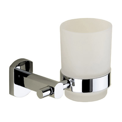 Gedy Edera Frosted Glass Bathroom Tumbler Holder ED10-13