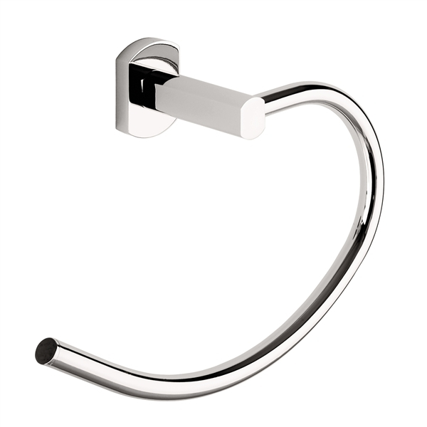 Gedy Edera Bathroom Towel Holder Ring in Chrome ED70-13