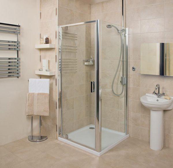 Roman Embrace 800 6mm pivot shower door Only EF13S