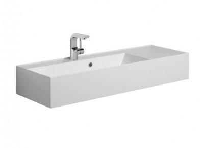 Bauhaus Elite Square Vanity Basin With Overflow EL0003SRW