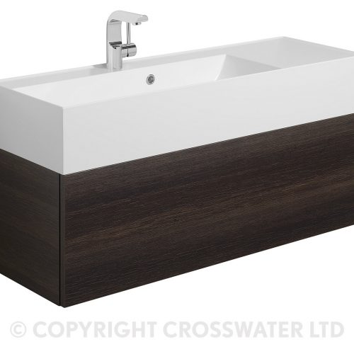 Crosswater Elite Drawer Vanity Unit 100 Panga EL1000DPG