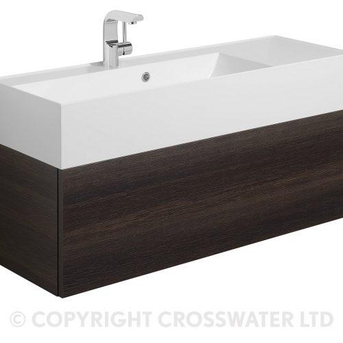 Crosswater Elite Drawer Vanity Unit 100 Panga EL1000DPG