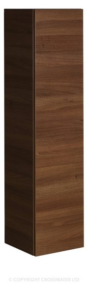 Bauhaus Single Door Storage Unit In Walnut EL3514FWT