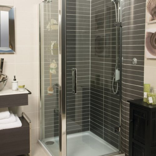 Roman Embrace 900 6mm Hinged Shower Door Only EL913S