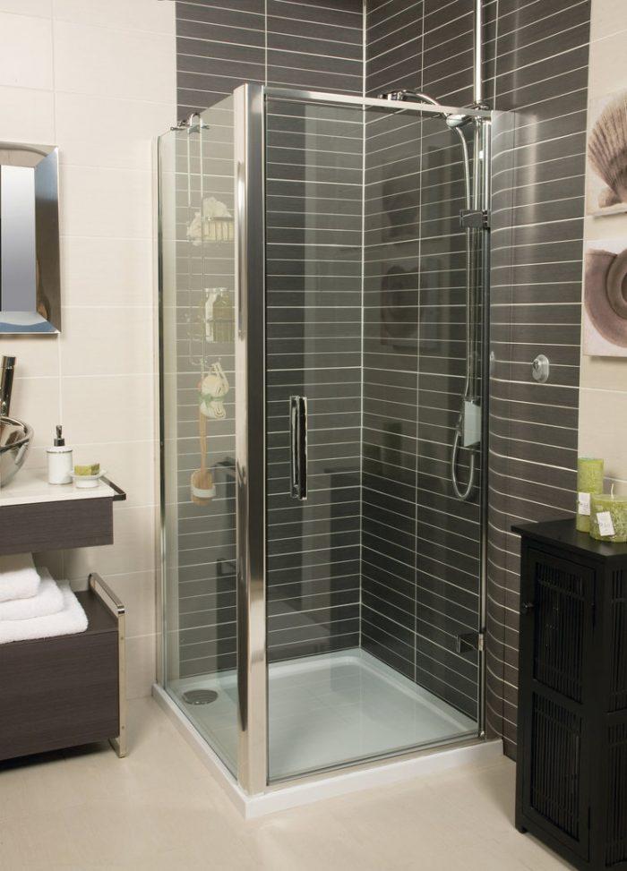 Roman Embrace 900 6mm Hinged Shower Door Only EL913S