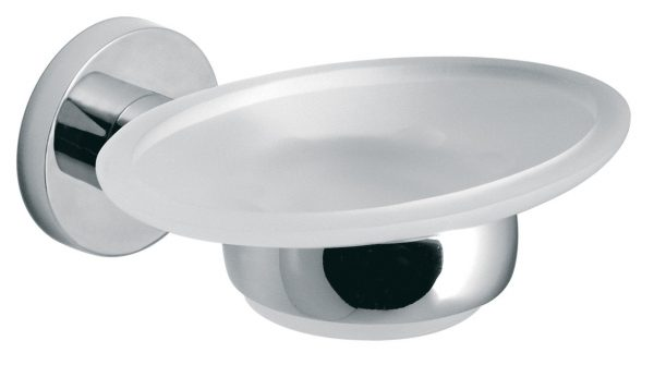 Vado Elements frostd glass soap dish wall mtd ELE-182-C/P