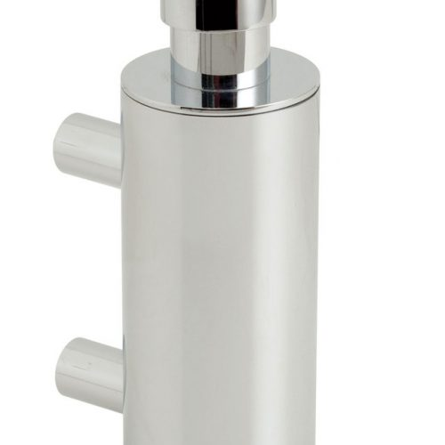 Vado Elements metal soap dispenser wall mntd ELE-182B-C/P