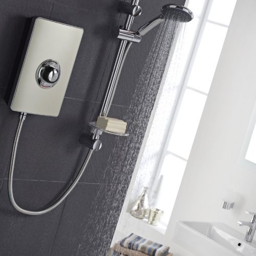 Vado Elegance Bronze 8.5kW Electric Shower