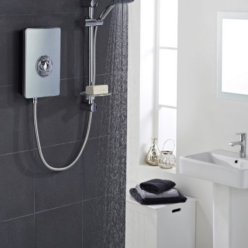Vado Elegance Metallic 8.5kW Electric Shower ELS-ELE-85-MET