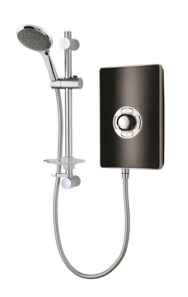 Vado Elegance Black Speckled 9.5kW Electric Shower