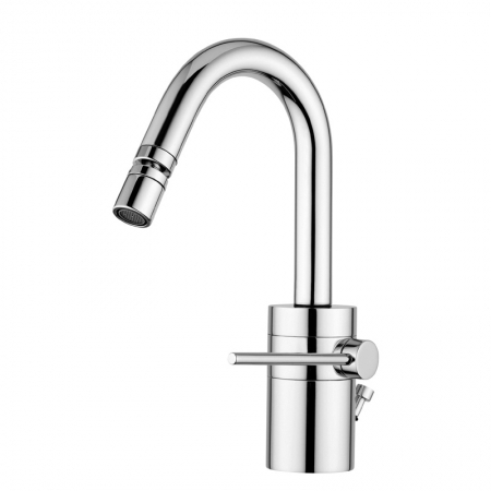 Saneux Easy O Bidet mixer with pop-up EO006