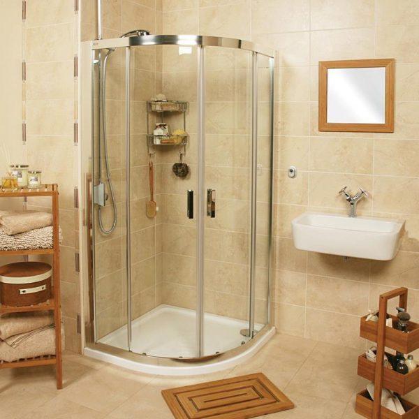 Roman Embrace 800 x 1000 Two Door Offset Quadrant EQ81013S