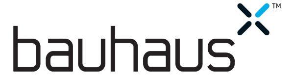 Bauhaus 60cm LED Aluminium Bathroom Cabinet CB6080AL