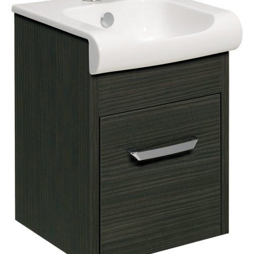 Bauhaus Essence Drawer Vanity 40 Unit Anthracite ES4000DAN