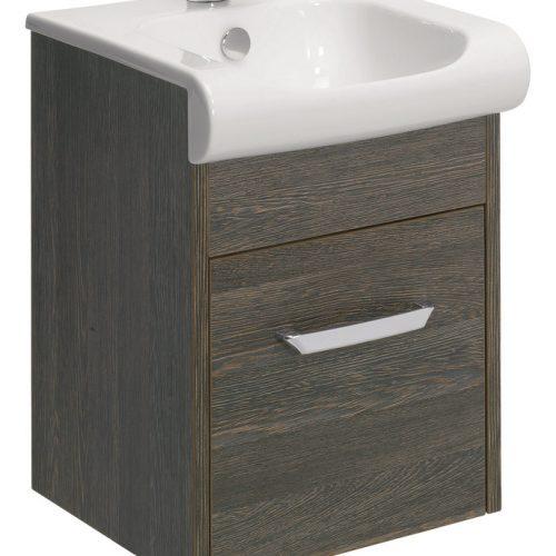 Bauhaus Essence Drawer Vanity 40 Unit Ebony ES4000DEB