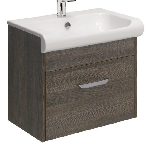 Bauhaus Essence 60 Vanity Unit Ebony ES6000DEB