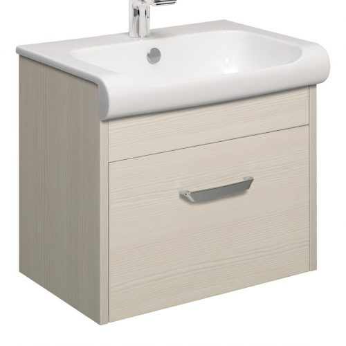 Bauhaus Essence Drawer Vanity Unit 60 Glacier ES6000DGL