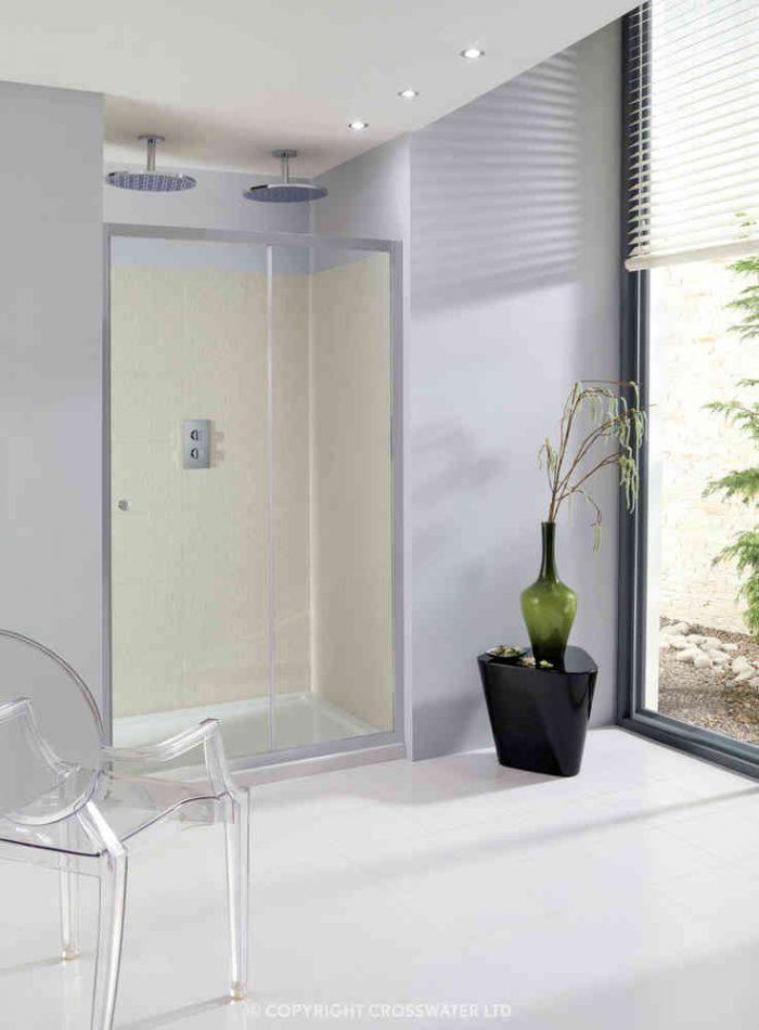 Simpsons Edge Single Shower Door 1200mm ESLSC1200