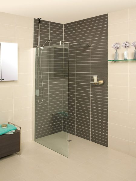 Roman Embrace 1078 - 1103mm Wetroom Panel ESP1113S 1100