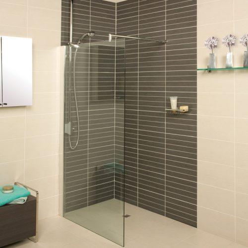 Roman Embrace 878 - 903mm Wetroom Panel ESP913S 900