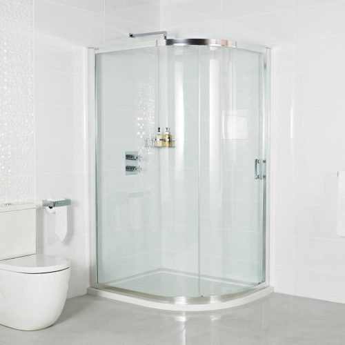 Roman Embrace 1000 x 800 One Door Offset Quadrant ESQ81013S