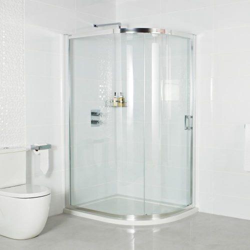 Roman Embrace 800 x 900 One Door Offset Quadrant ESQ8913S