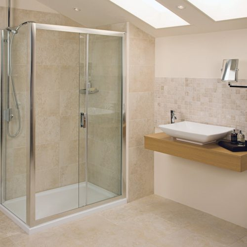 Roman Embrace 1200 6mm Sliding Shower Door Only ET1213S