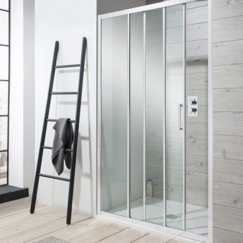 Crosswater Edge Triple Slider Shower Door 900mm ETSSC0900