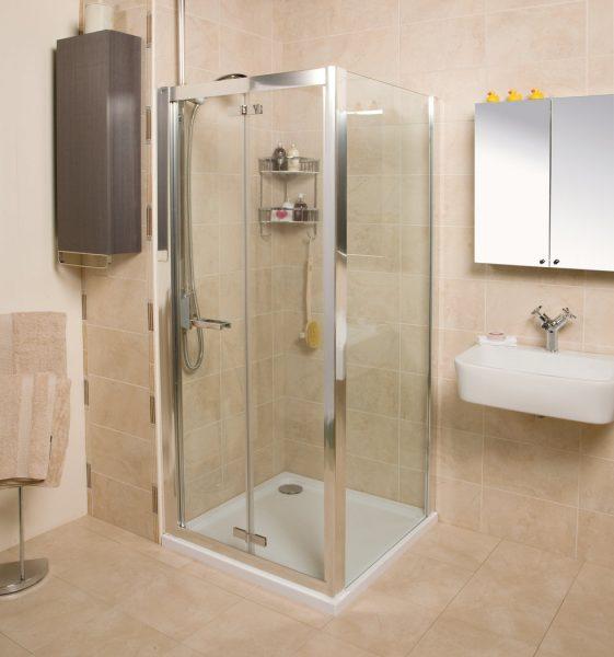 Roman Embrace 800 6mm Bi-Folf Shower Door Only EV13S