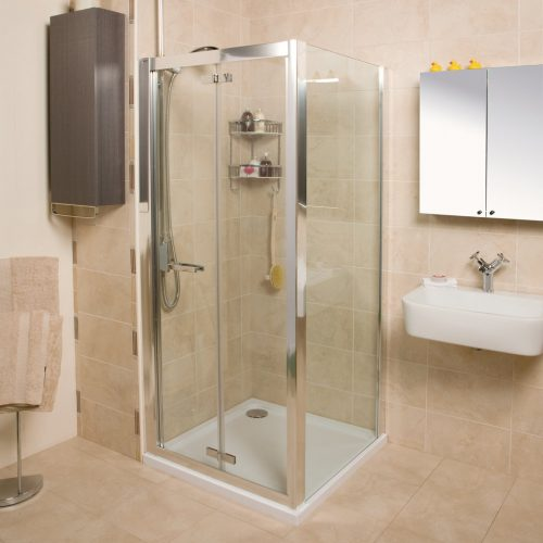 Roman Embrace 900 6mm Bi-Folf Shower Door Only EV913S
