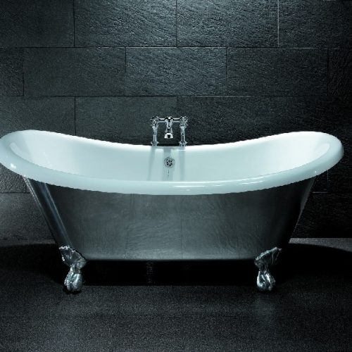 BC Designs Excelsior 1780mm x 760mm Cast Aluminium Bath-0