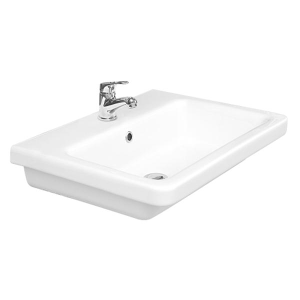 Saneux Indigo 60 x 45cm washbasin ONLY with 1 tap hole 70001