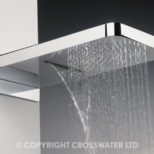 Crosswater Revive Shower Head & Waterfall Feature FH2000C