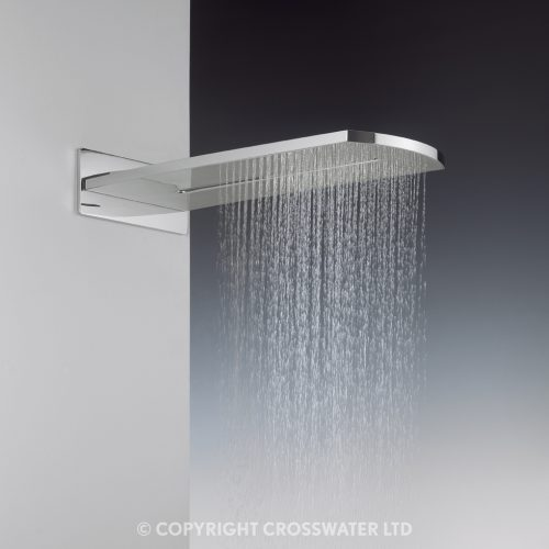 Crosswater Elite Overhead Shower Unique Waterfall FH2000UC