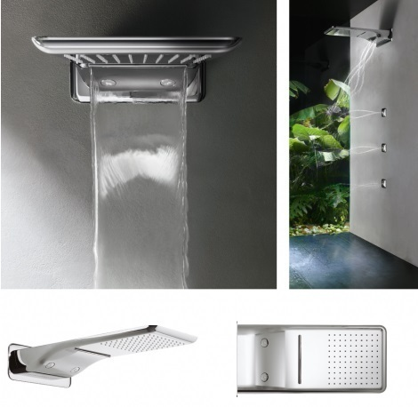 Crosswater Svelte Multifunction Shower Head FH2100C